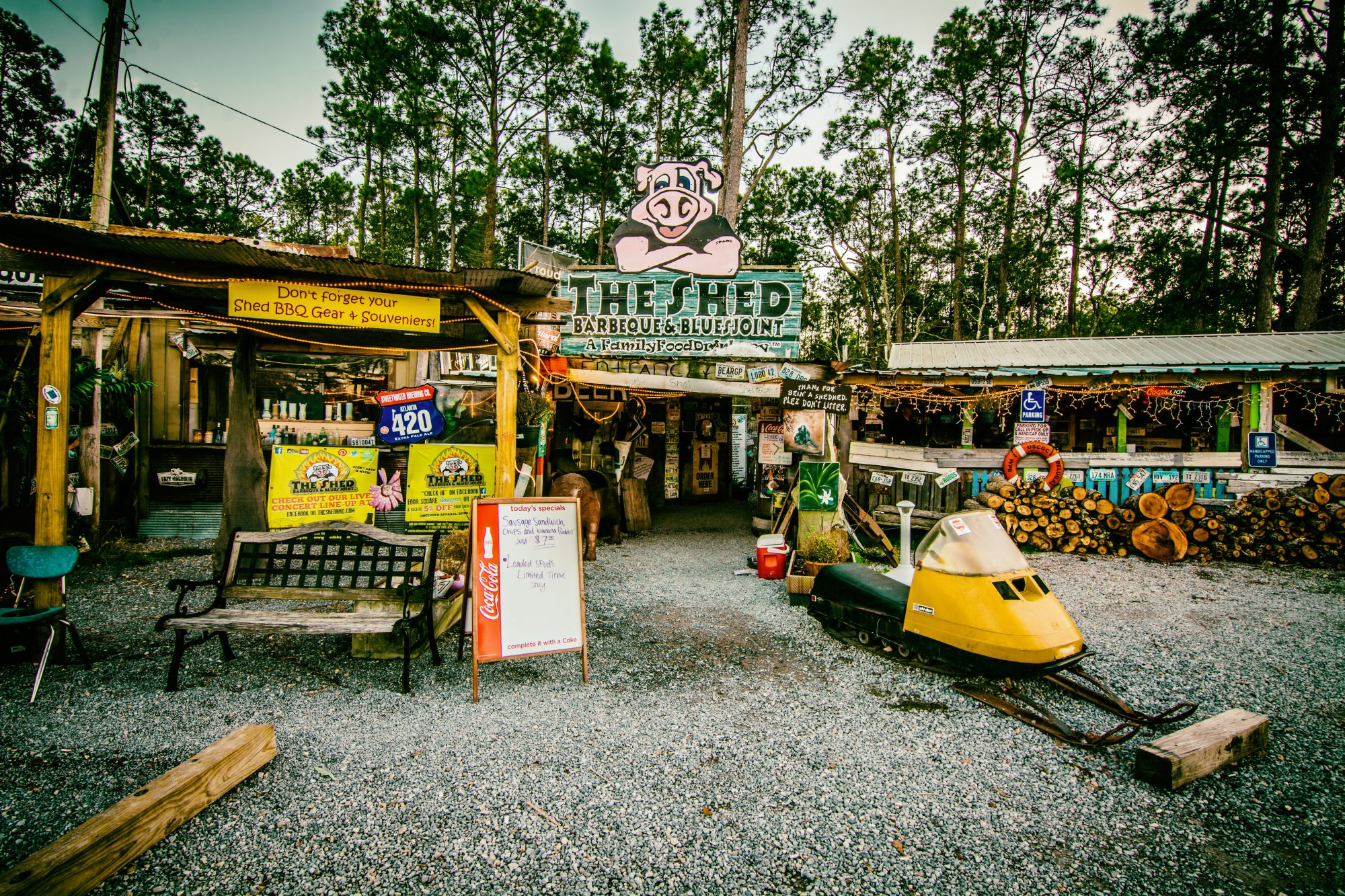 The Shed BBQ in Ocean Springs, Mississippi