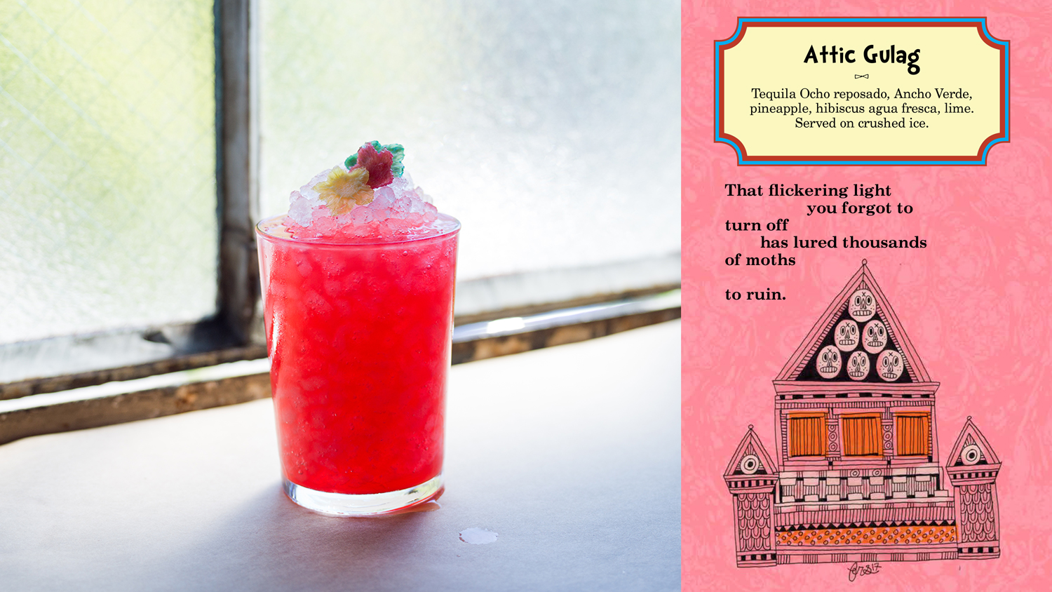 attic gulag from trick dog bar crazy menu drinks