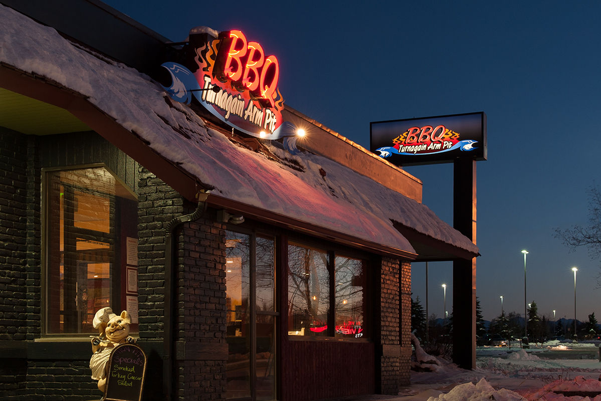 Turnagain Arm Pit BBQ in Anchorage and Indian, Alaska