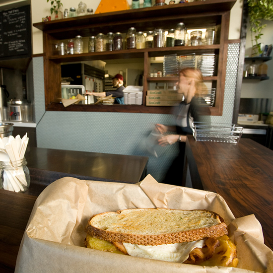 Best Breakfast Sandwiches in the U.S.: The American Grilled Cheese Kitchen; San Francisco, CA