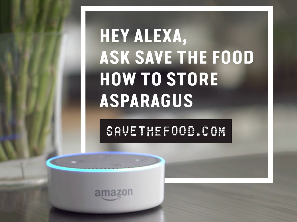 save the food alexa prevents food waste