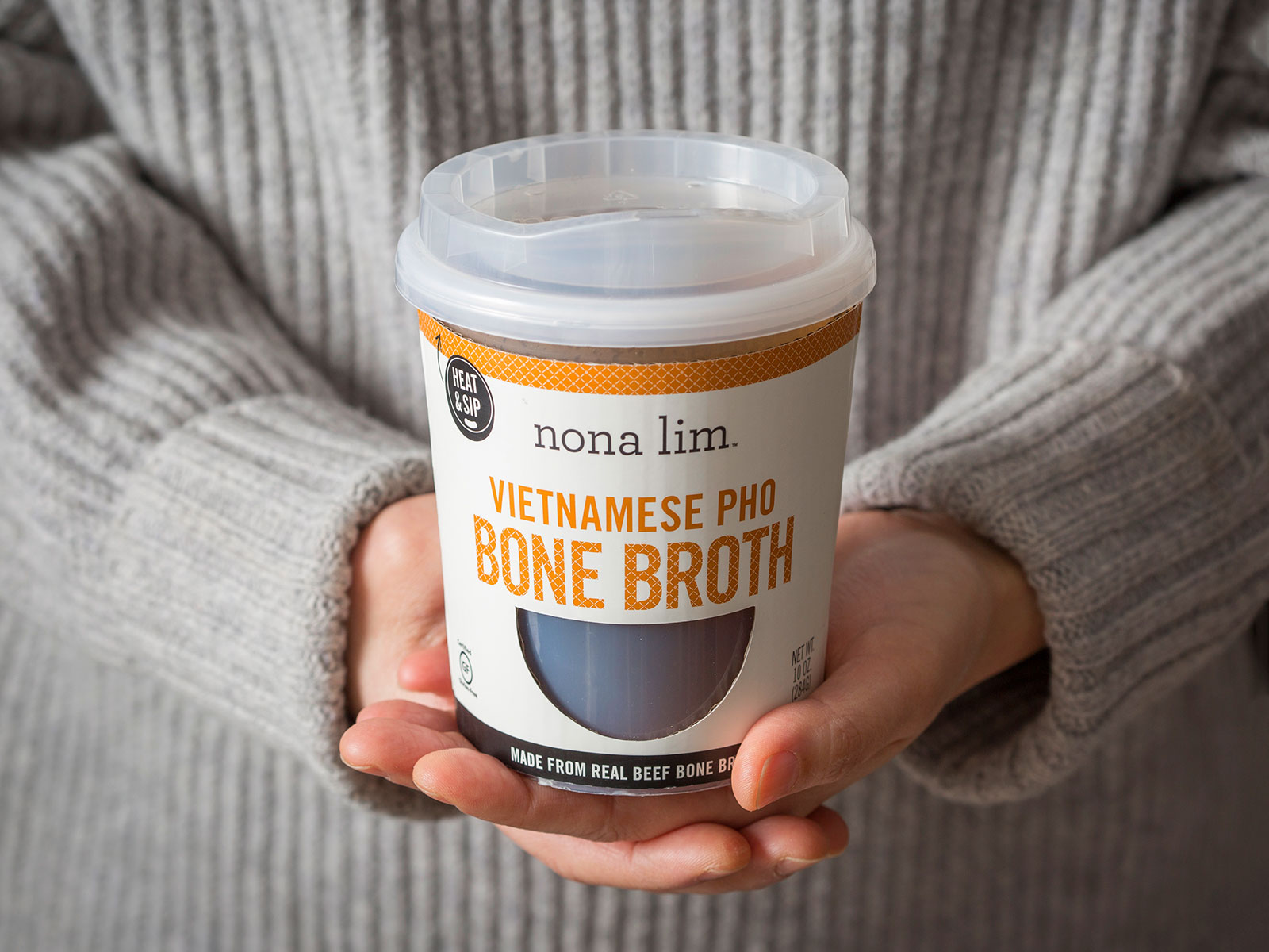Vietnamese Pho Bone Broth Heat & Sip Cup