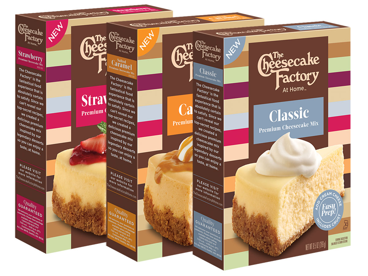cake mix at home cheesecake factory