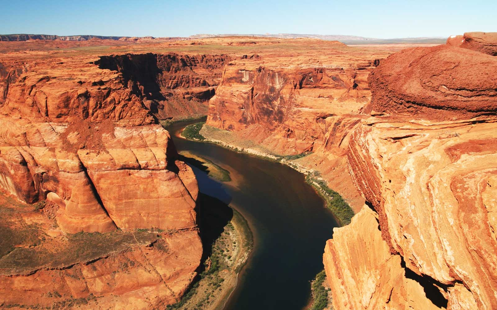 Meander Colorado River, Grand Canyon, Arizona