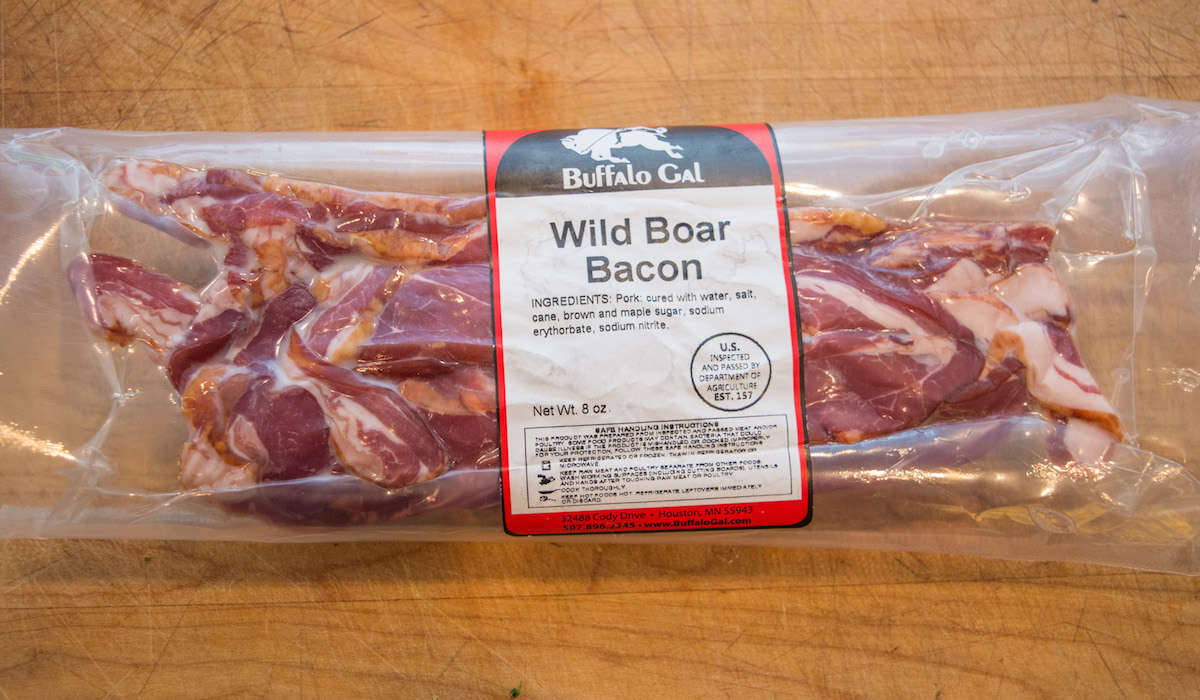 Wild Boar Bacon