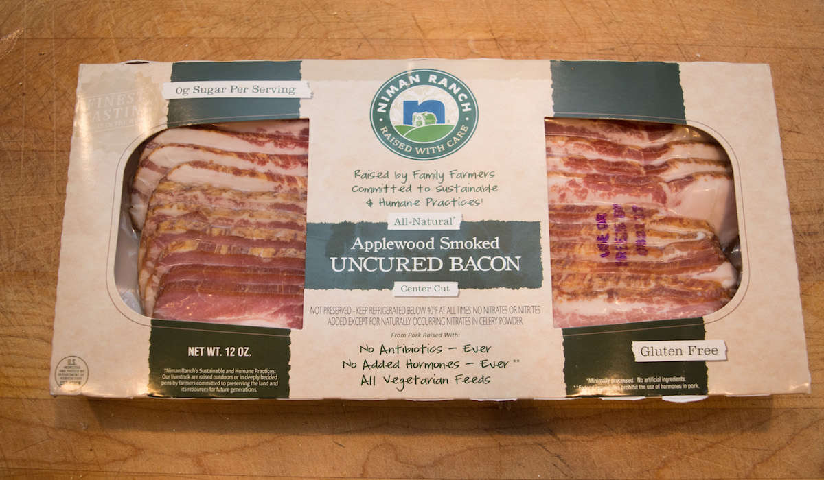 Best Bacon for Crispy-Bacon Lovers: Niman Ranch Uncured, Applewood-Smoked Bacon