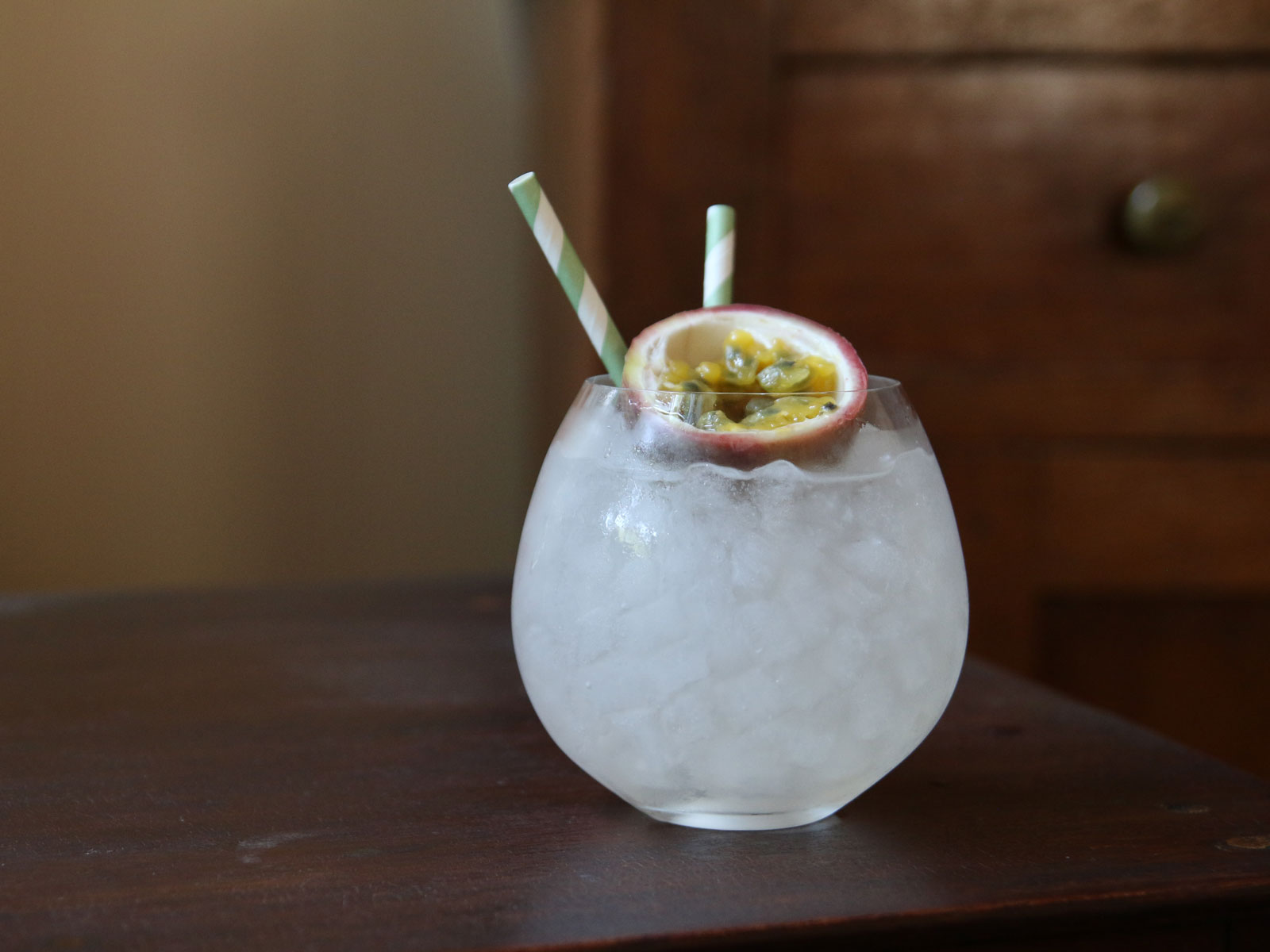 Passionfruit Rickey