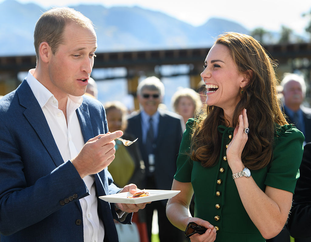The Duke and Duchess of Cambridge visit Canada in 2016