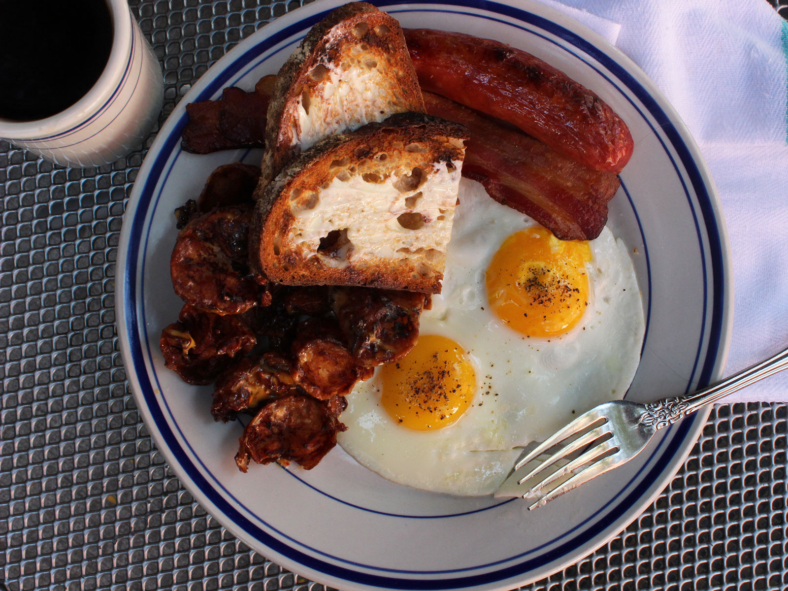 $12 Butcher breakfast at Publican Quality Meats