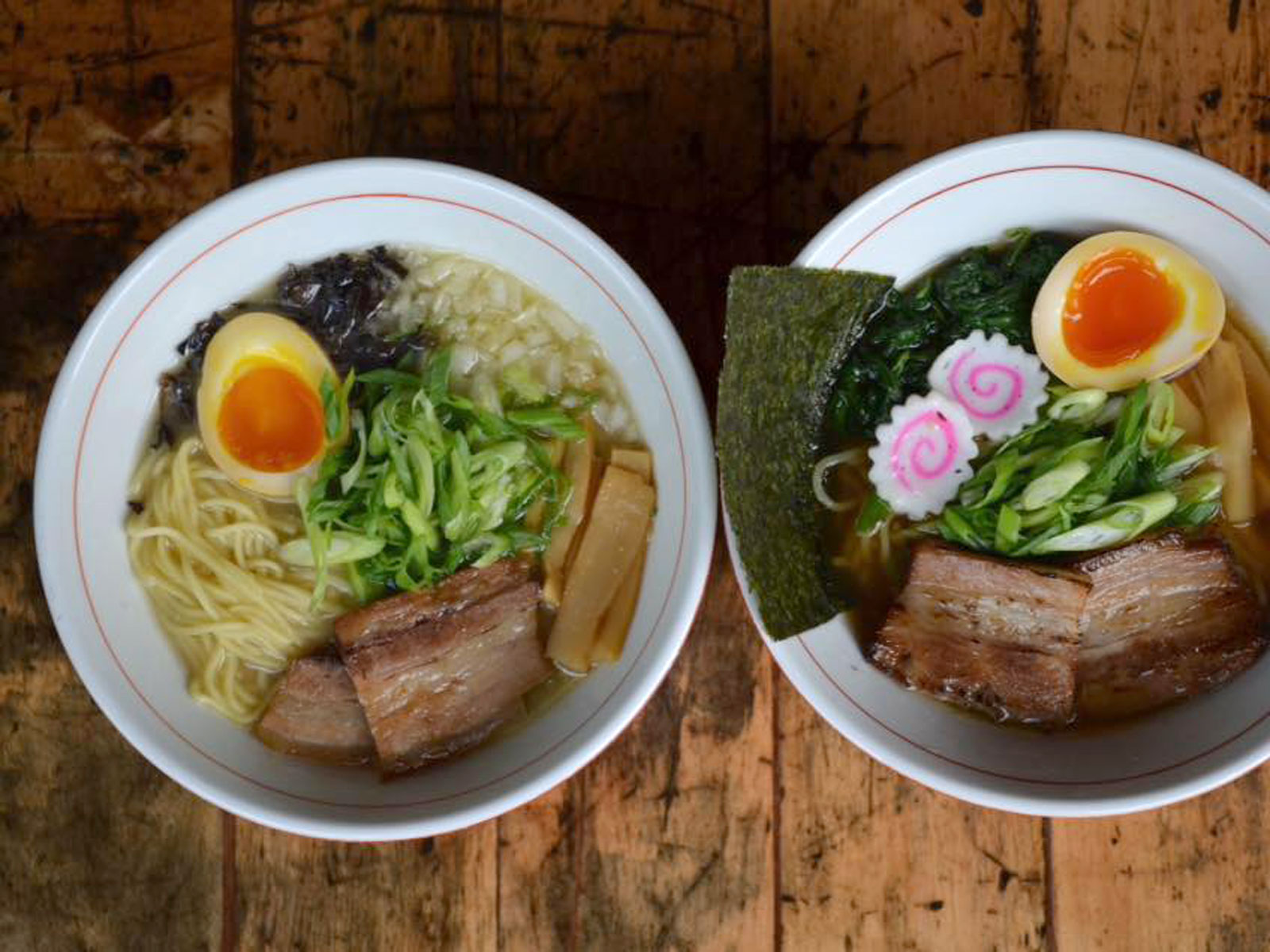$13 Chicken Paitan ramen at Ramen Takeya