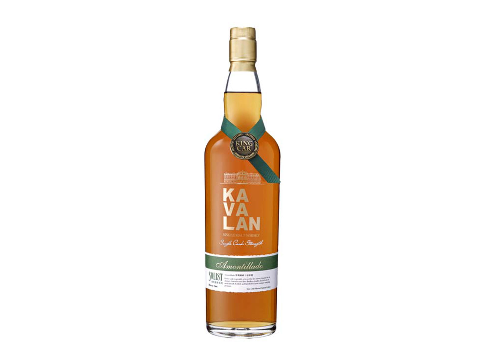 Solist Amontillado Cask Whisky by Kavalan