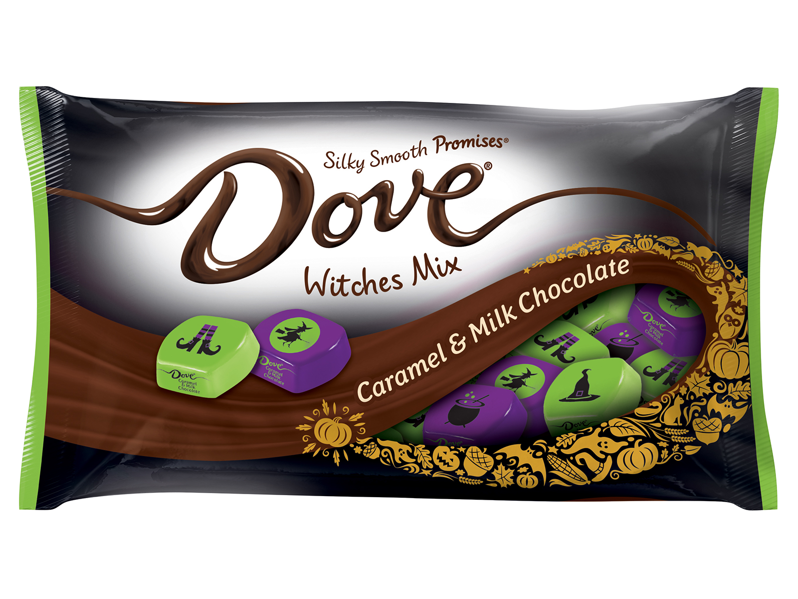 dove chocolate with caramel