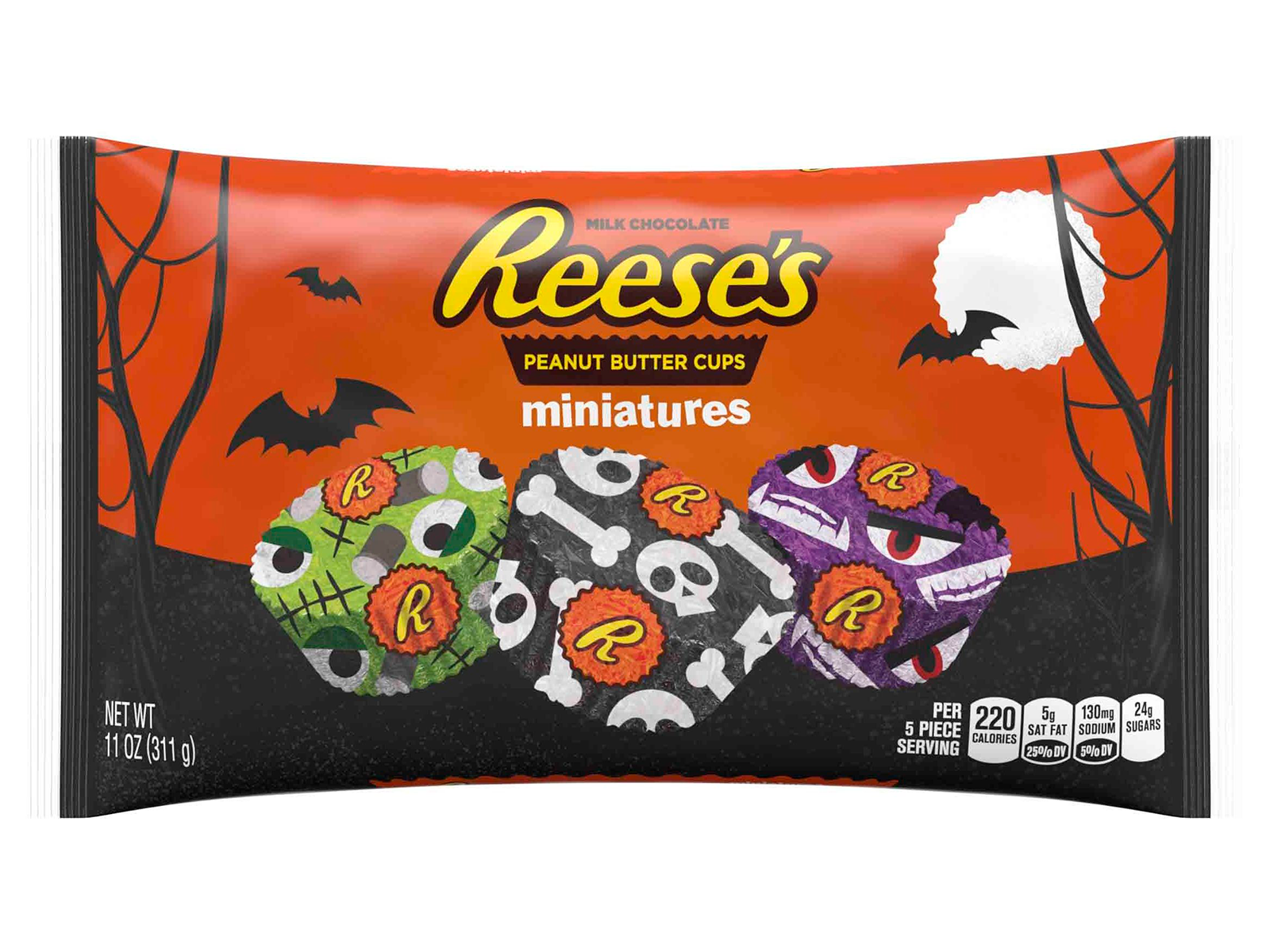 reeces peanut butter and chocolate halloween candy