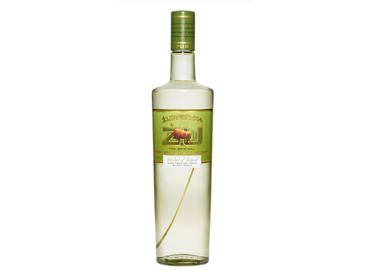 ZU Zubrówka Bison Grass Vodka