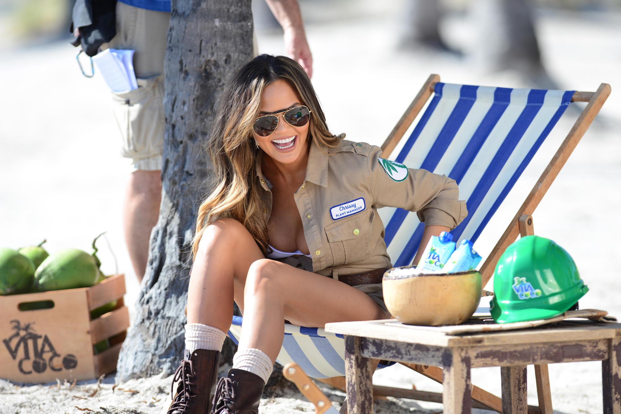 Clone of Chrissy Teigen's Vita Coco Outtakes Are Just as Funny as She Is