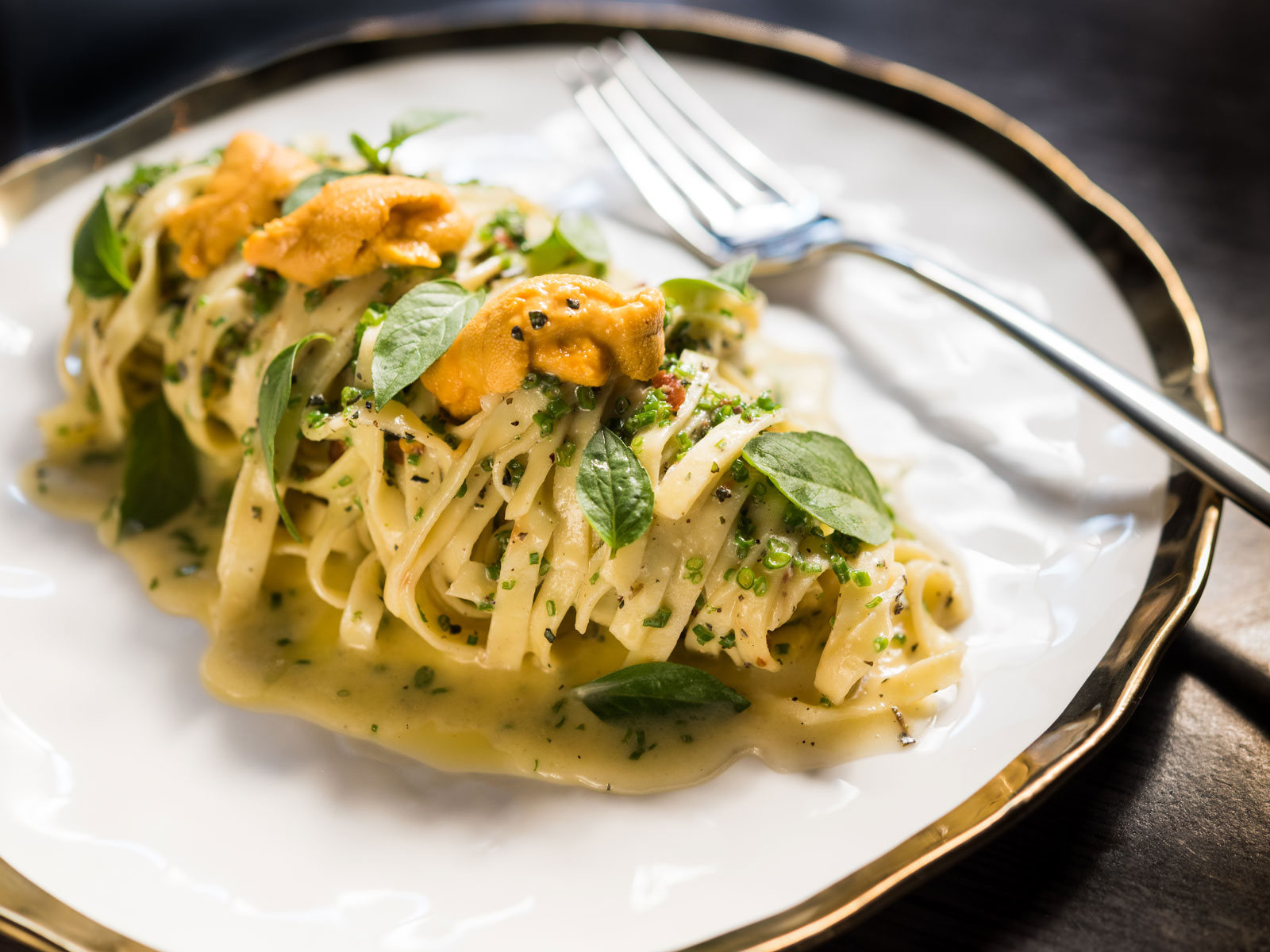 Sea Urchin Linguini