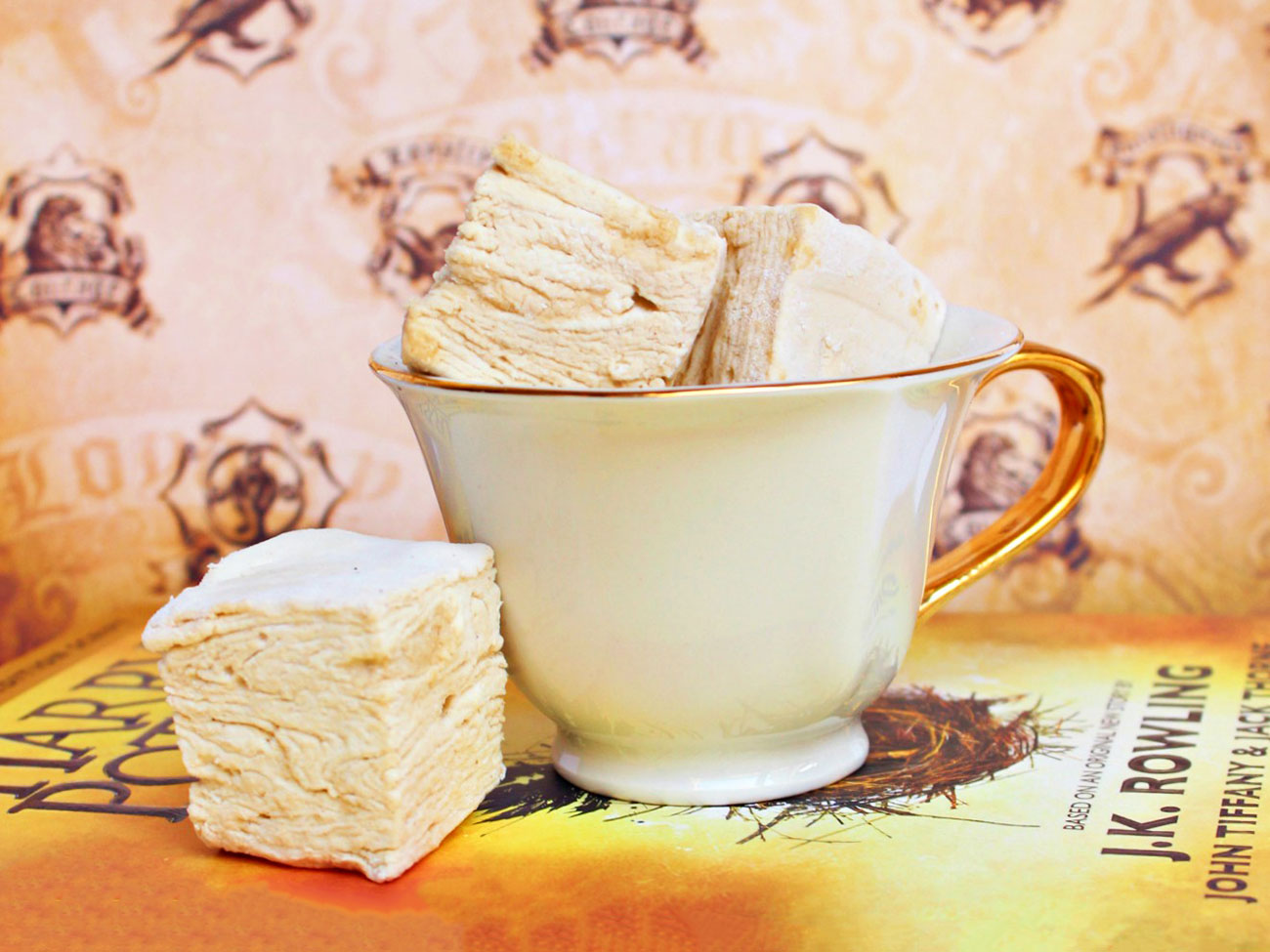 butterbeer marshmallows