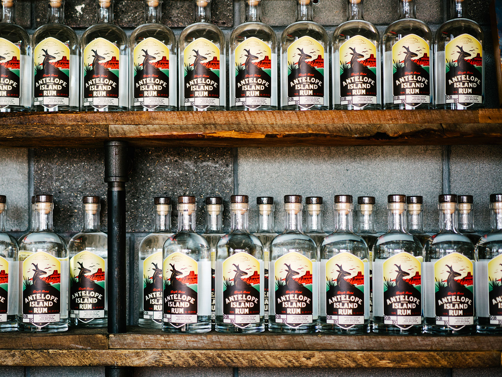dented brick distillery in utah