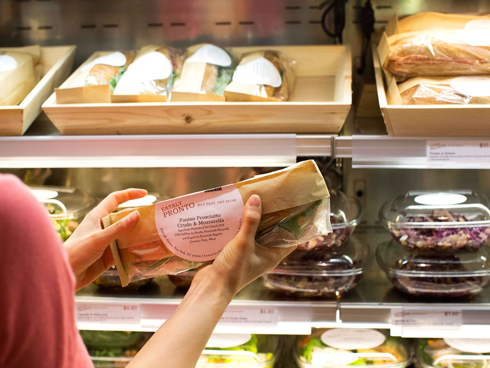 Eataly makes meals to go