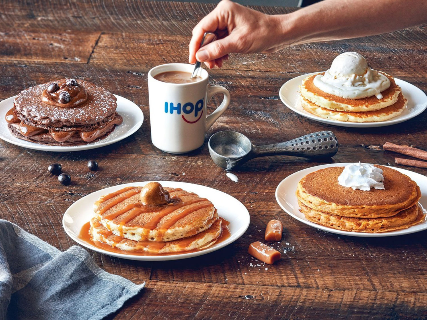 ihop coffee flavored pancakes