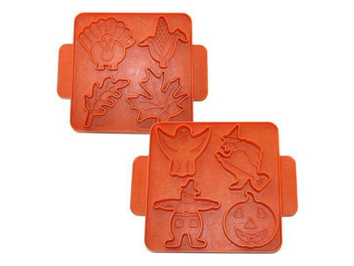 autumn themed cookie shapers
