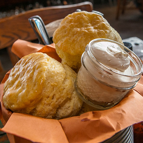 Best Biscuits in the U.S.: Sweet Cheeks Q