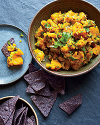 Chunky Curried Kabocha Squash Dip