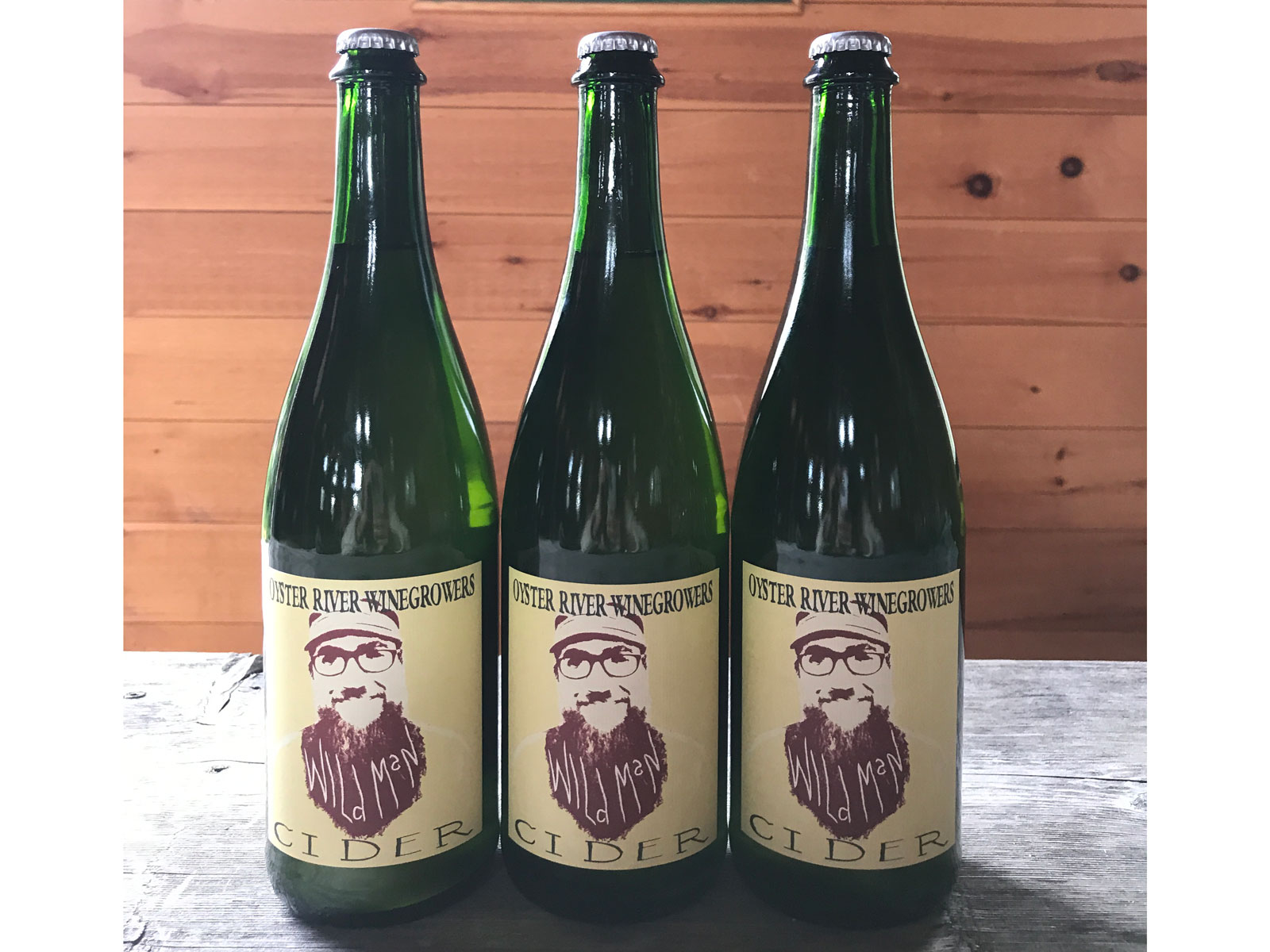 Oyster River Winegrowers Wildman Cider