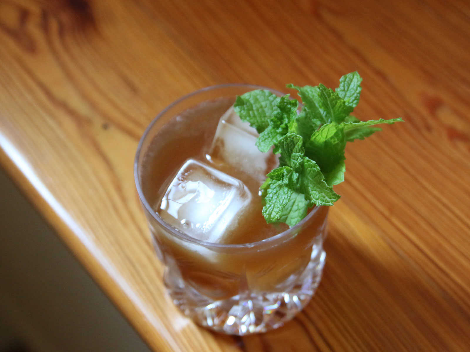 Rum, Mint, and PX Cocktail