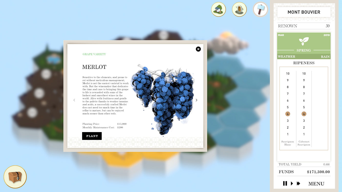 wine making video game