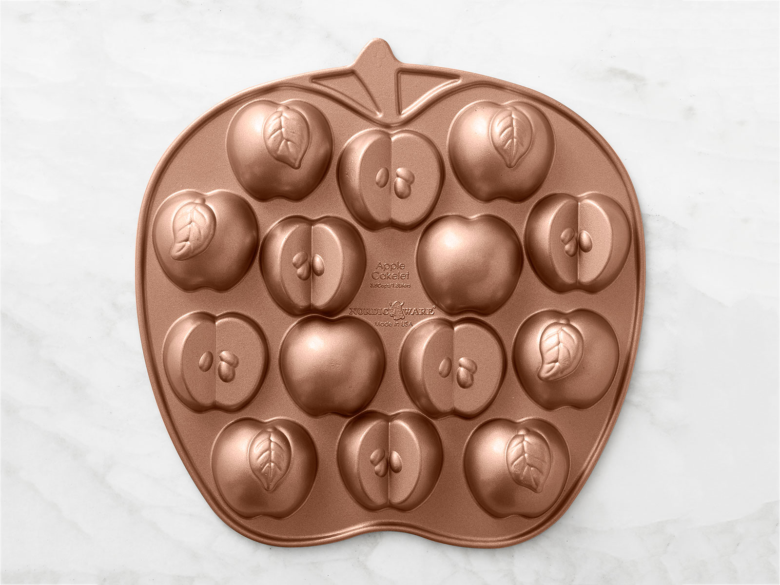 apple mold tray