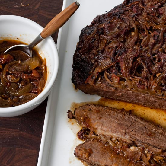 Holiday Beef Brisket with Onions