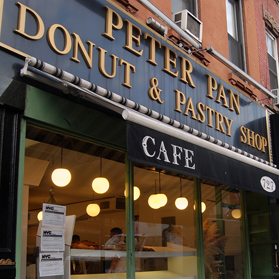Peter Pan Donut & Pastry Shop; Brooklyn, NY