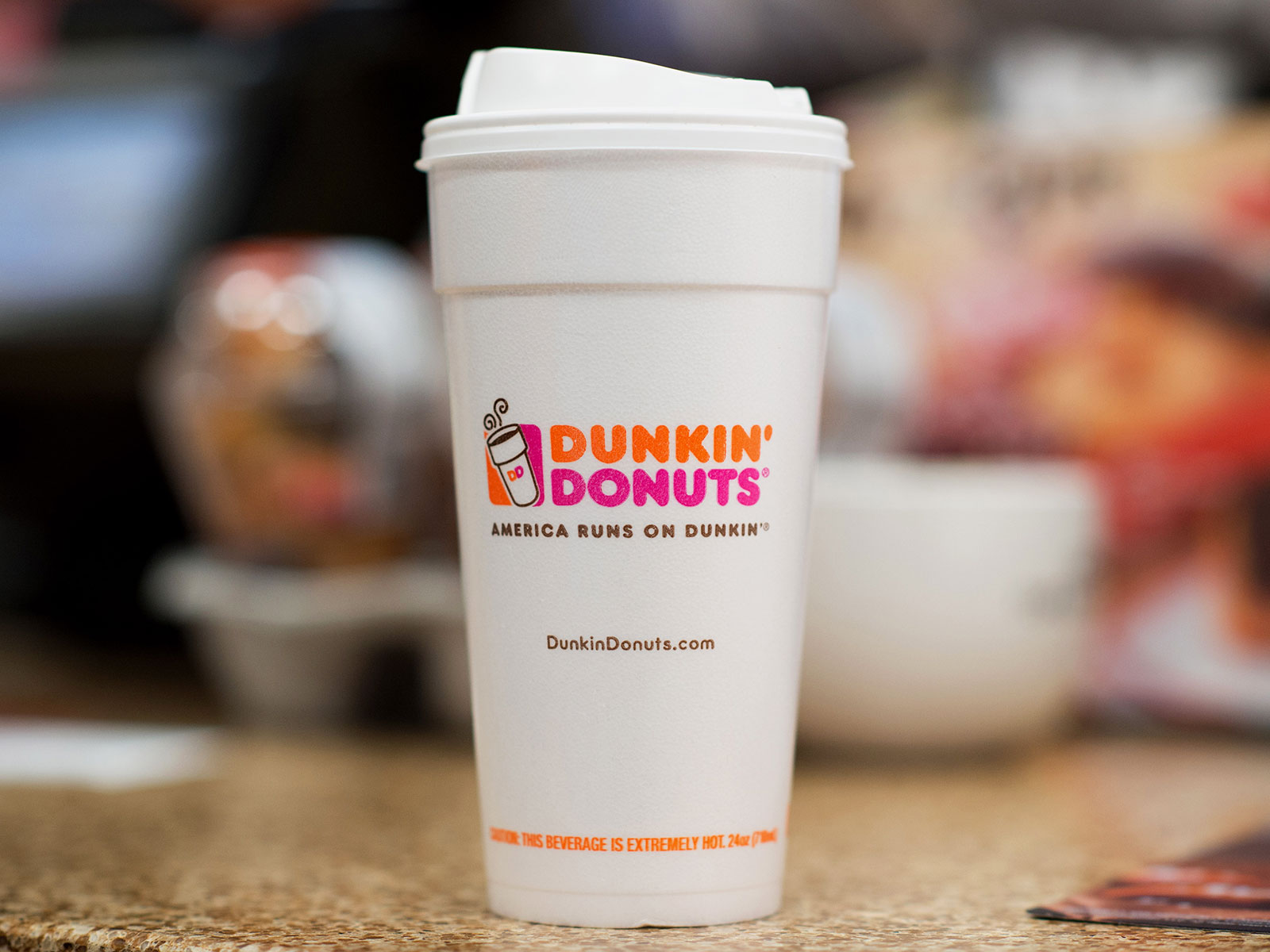 almond joy hot chocolate at dunkin donuts