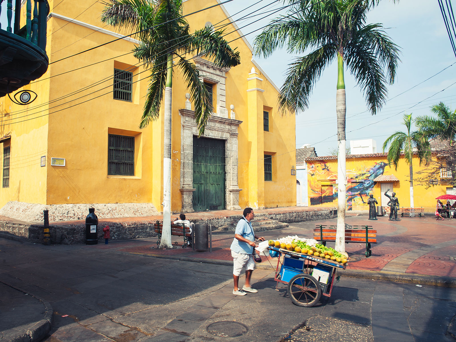 cartagena's colombia old town