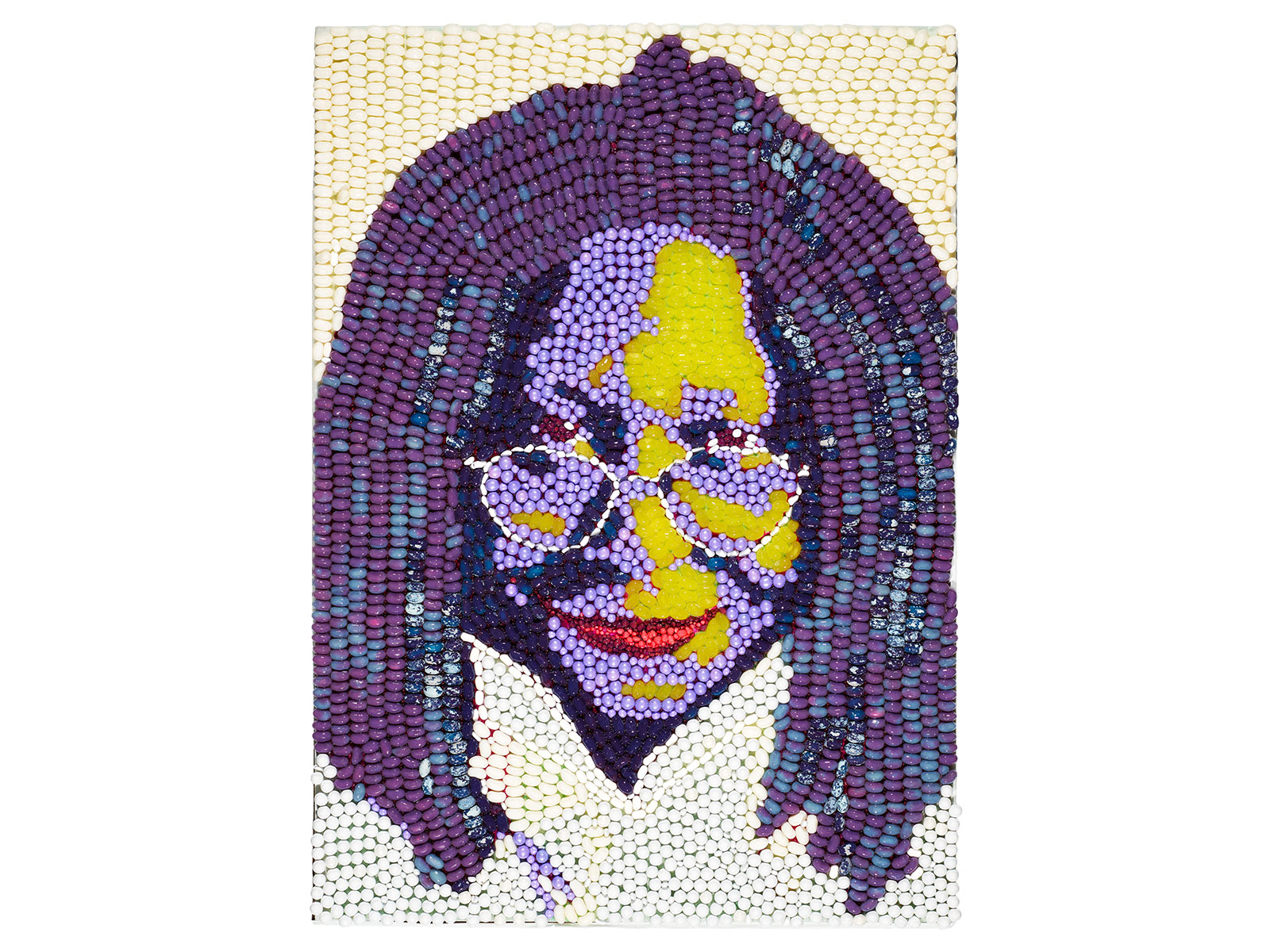 dylans candy bar makes candy mosaics for charity