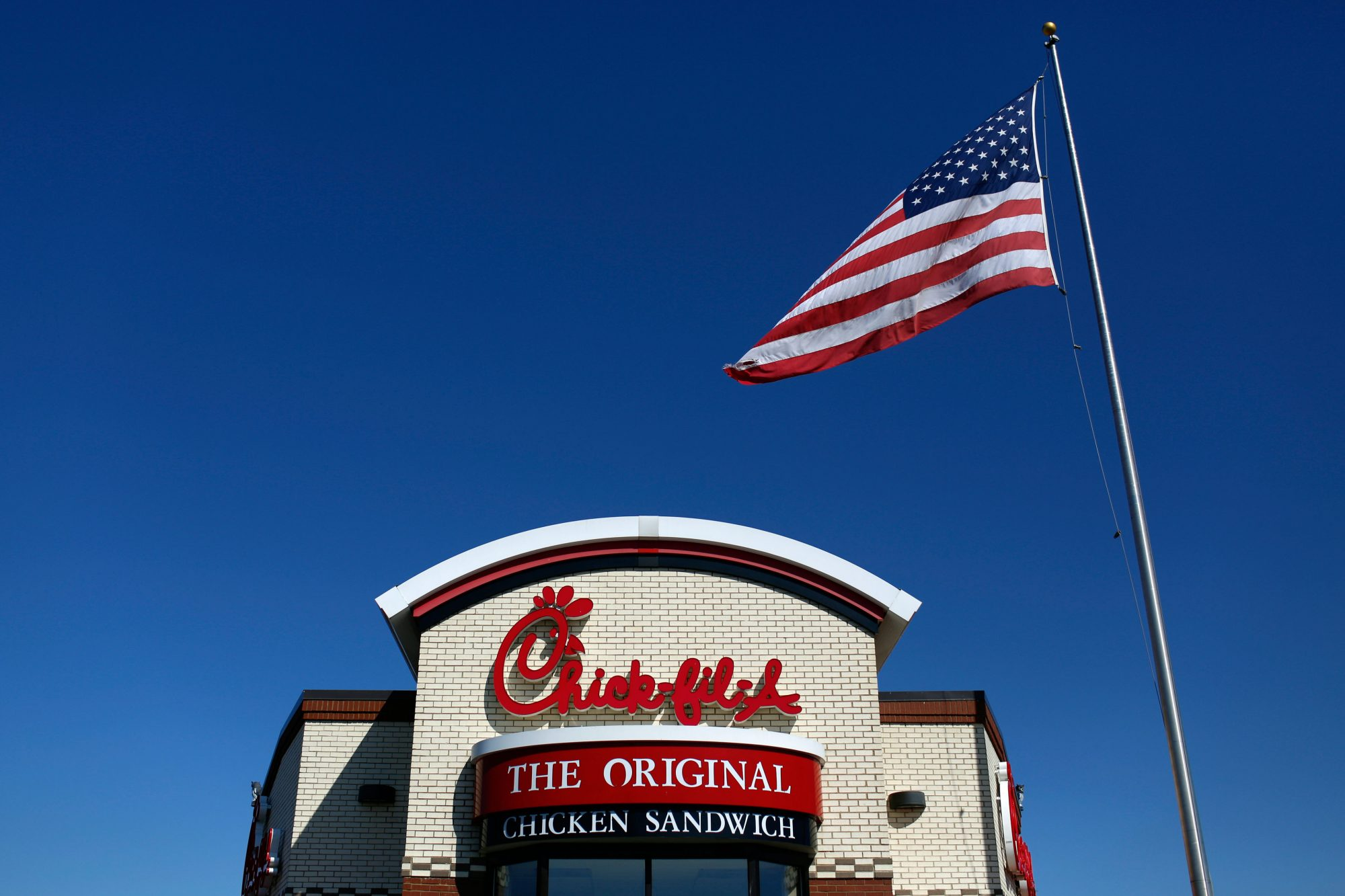 Front of Chick-Fil-A Restaurant