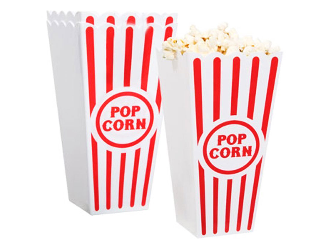traditional popcorn cups