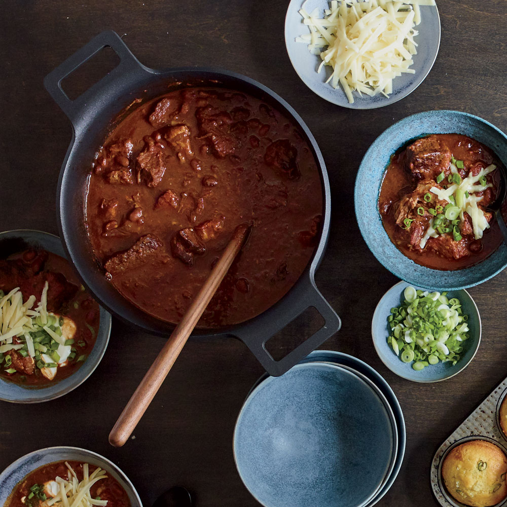 Pork-and-Brisket Chili