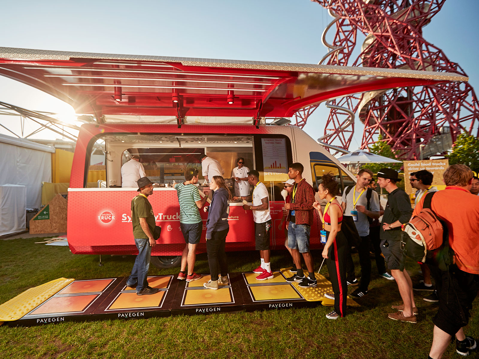 shell synergy food truck