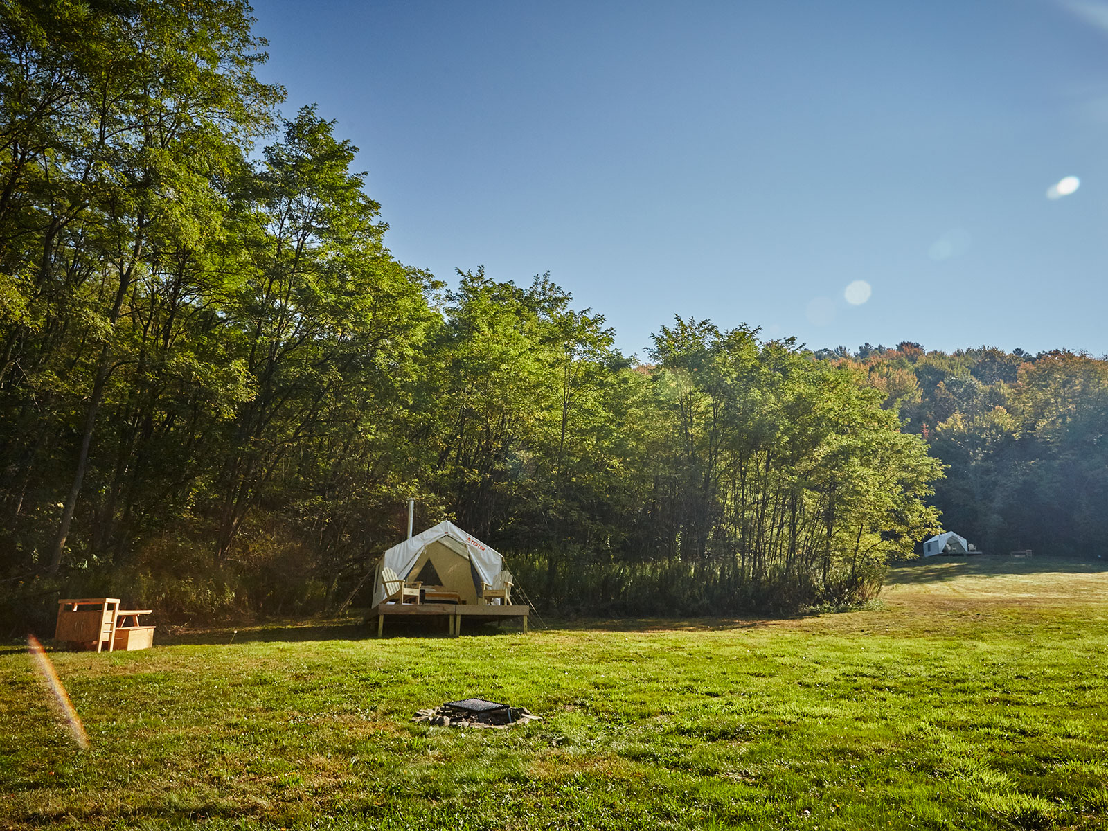 campgrounds by tentrr at ommegang brewery