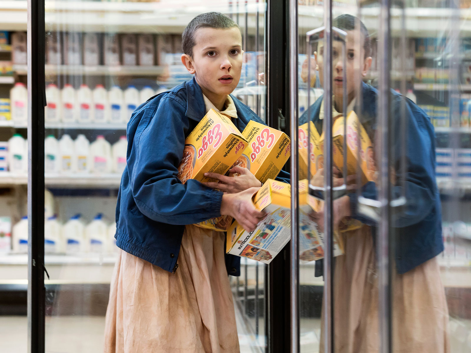 eleven and eggos from season 1