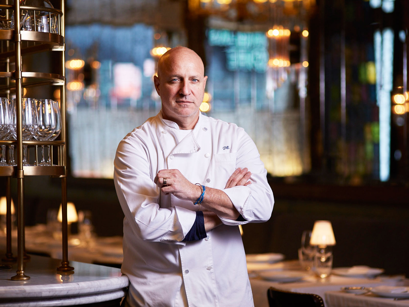 Tom Colicchio Fires Back After His Home Was Vandalized with 'Hate Speech' By Trump Supporters