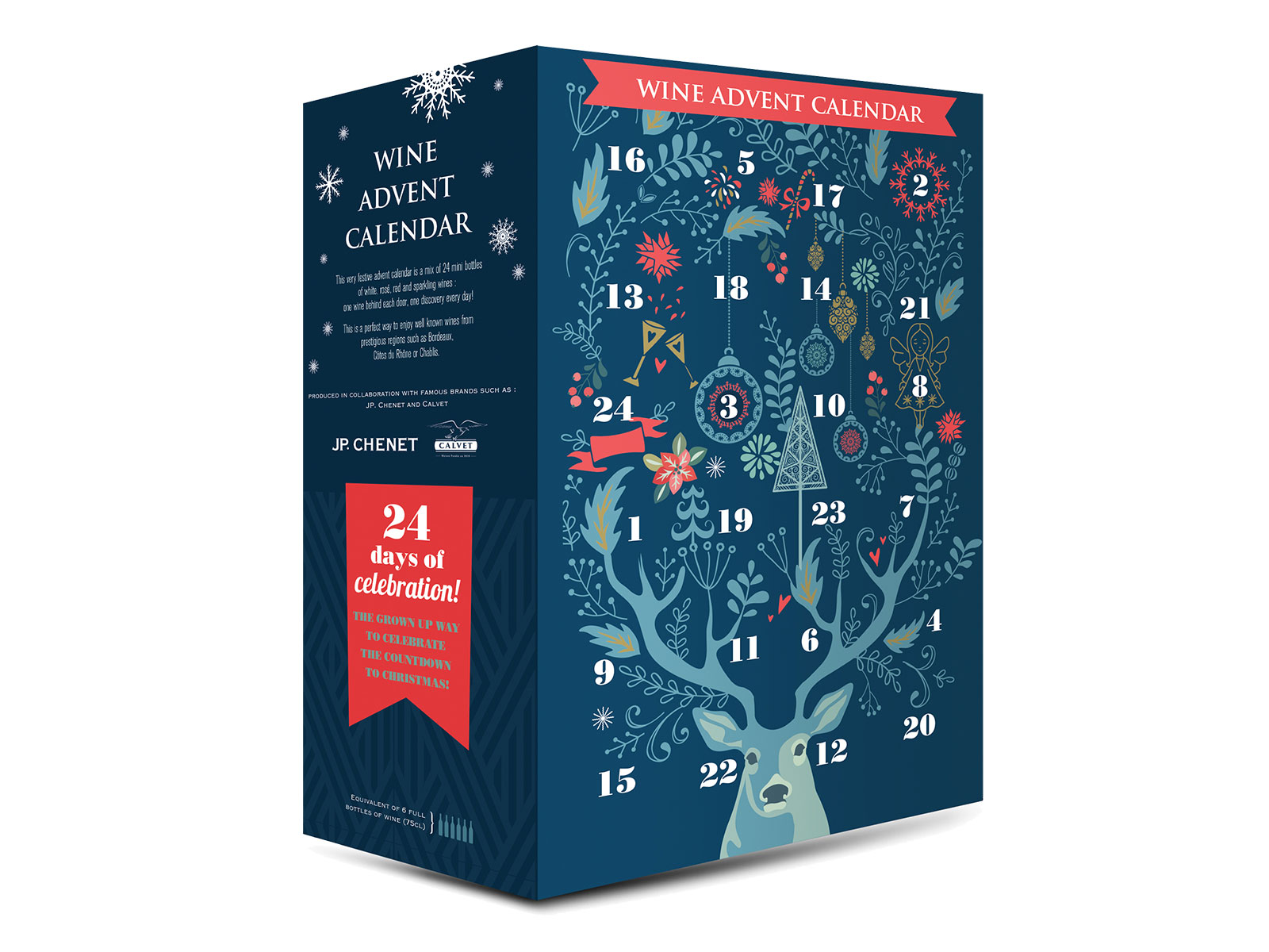 wine advent calendar from aldi in UK