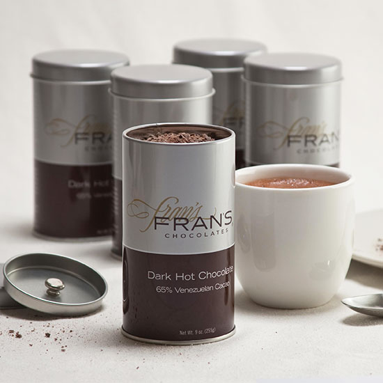 Best Hot Chocolate: Fran's Chocolates, Seattle