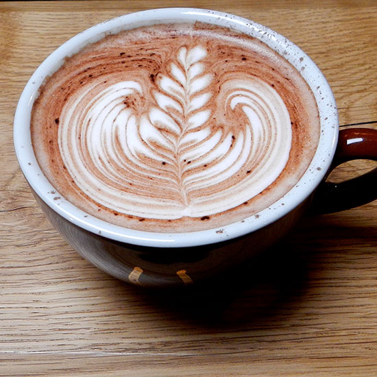 Best Hot Chocolate: Stumptown Coffee Roasters; Portland, OR