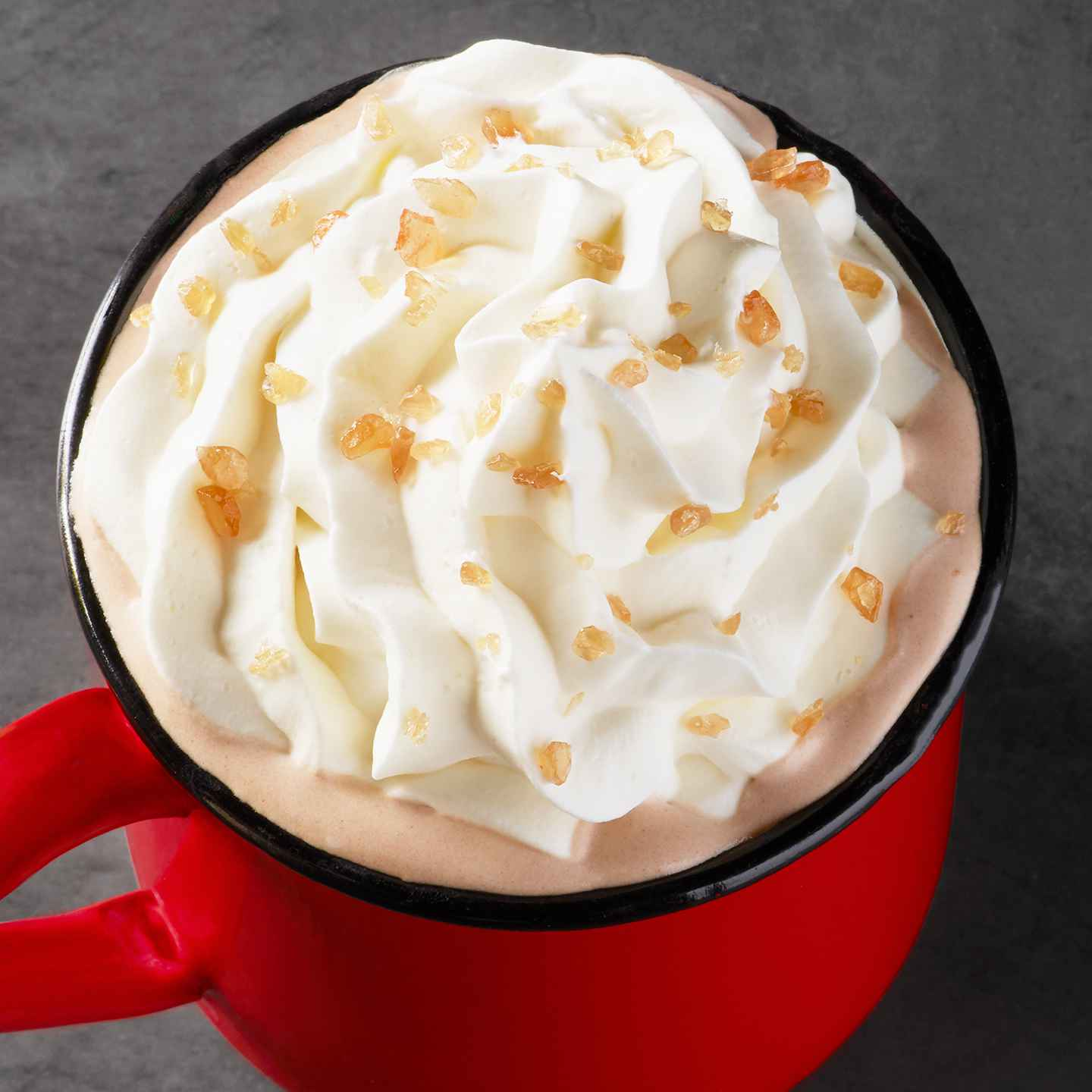 Toffee Almondmilk Hot Chocolate at Starbucks