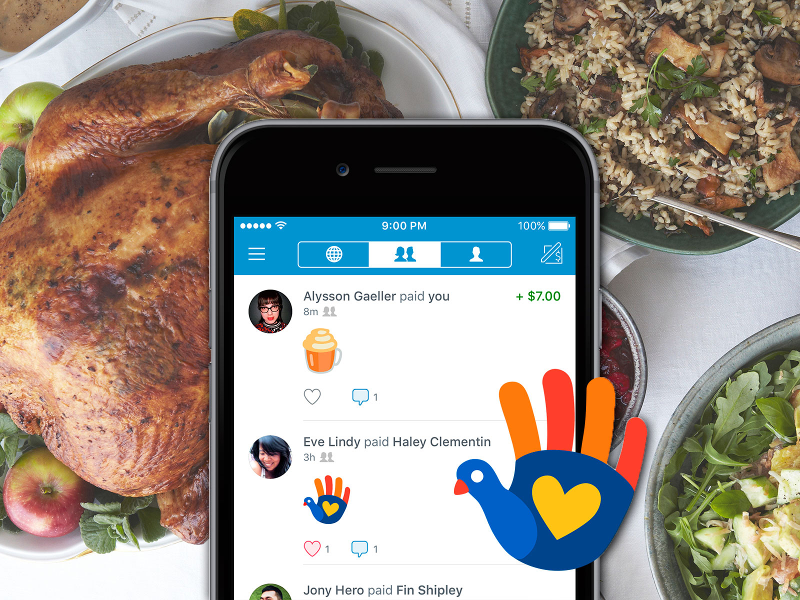 aldi and venmo friendsgiving