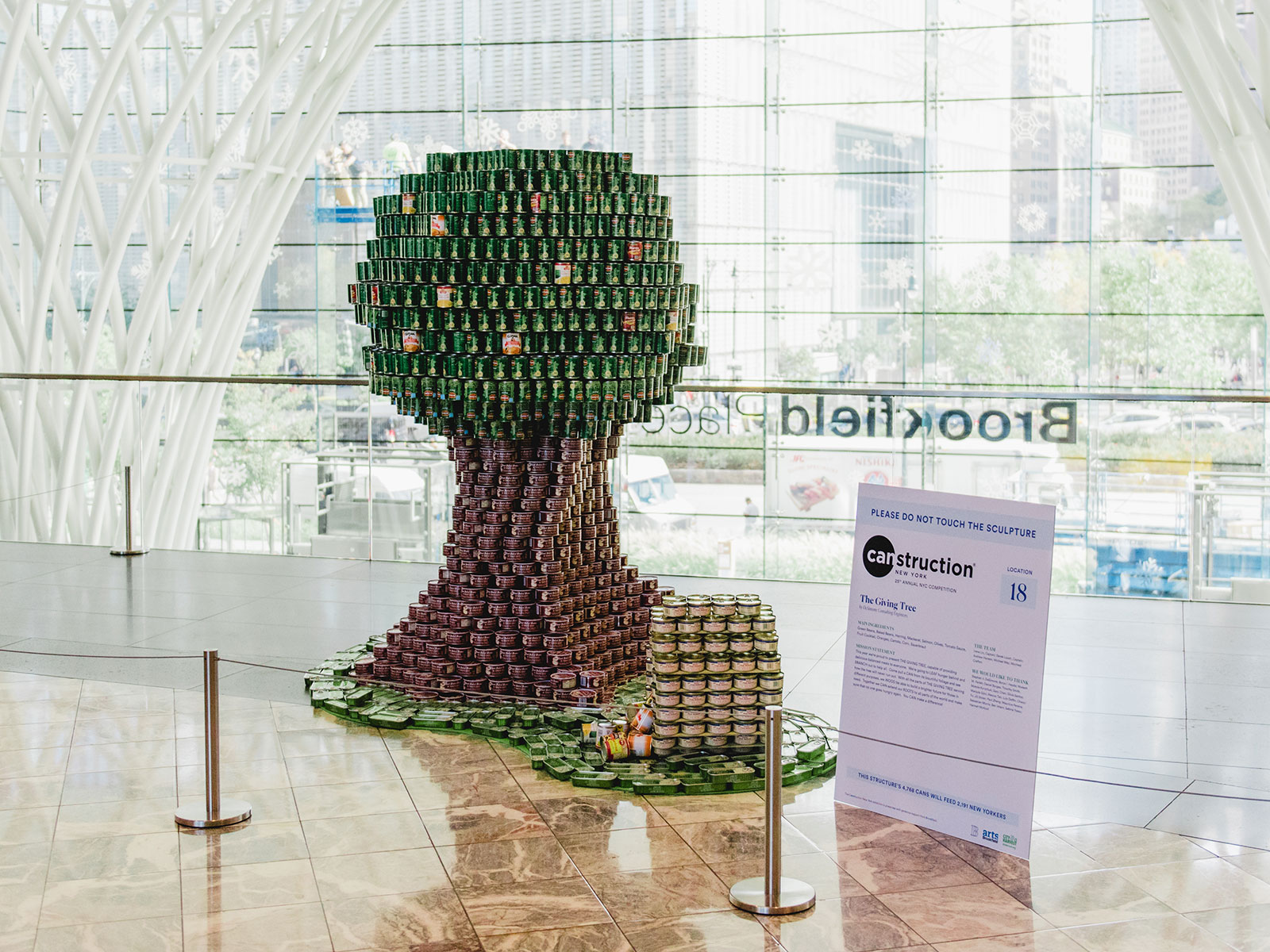 tree canstruction