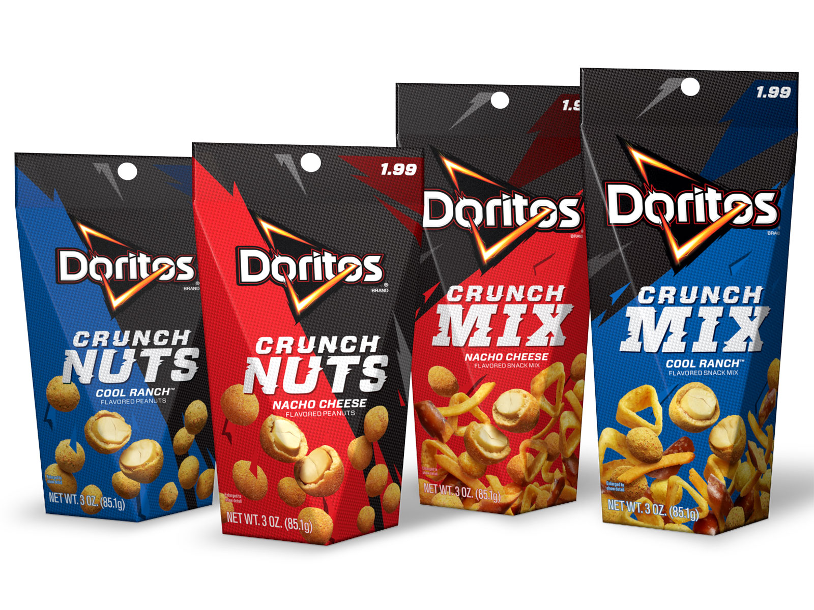 doritos crunch nuts and mix